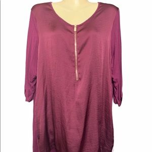USED VINCE CAMUTO TOP XL MAKE AN OFFER